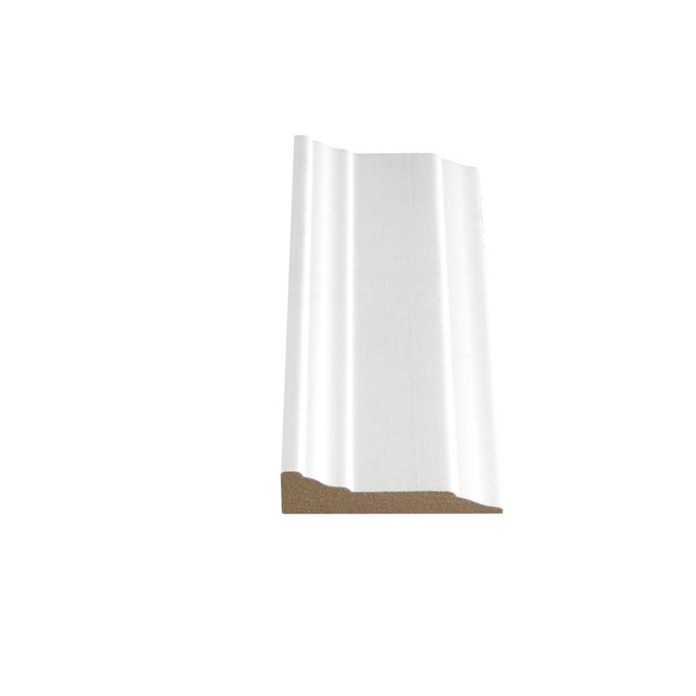 Primed Fibreboard Step Casing 1/2 Inches x 2-1/4 Inches x 84 Inches