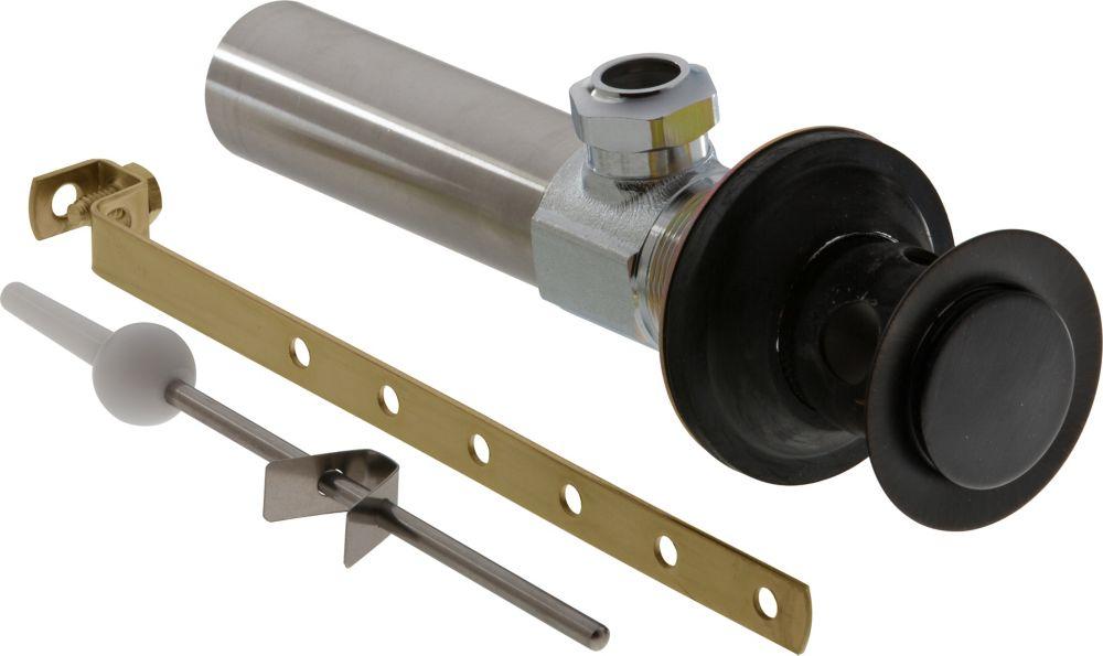Lavatory Drain Assembly Less Lift Rod in Venetian Bronze