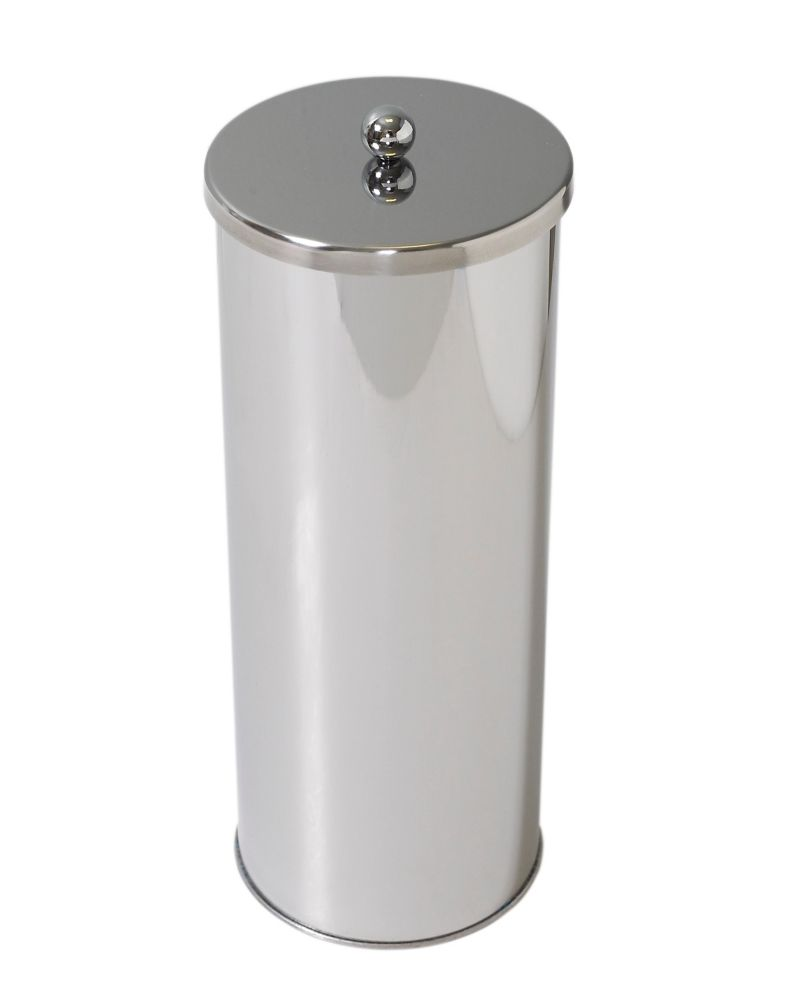 Toilet Paper Canister - Stainless Steel