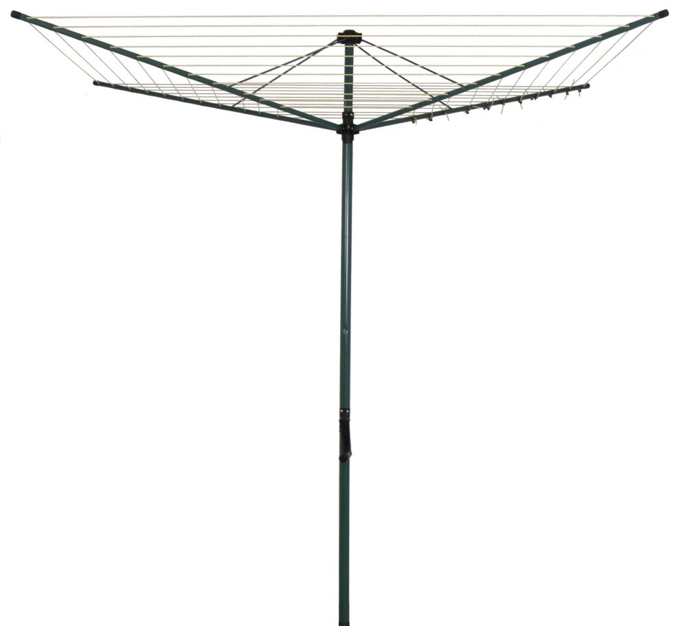 Greenway Greenway Rotary outdoor clothes dryer, green steel  powder coated steel