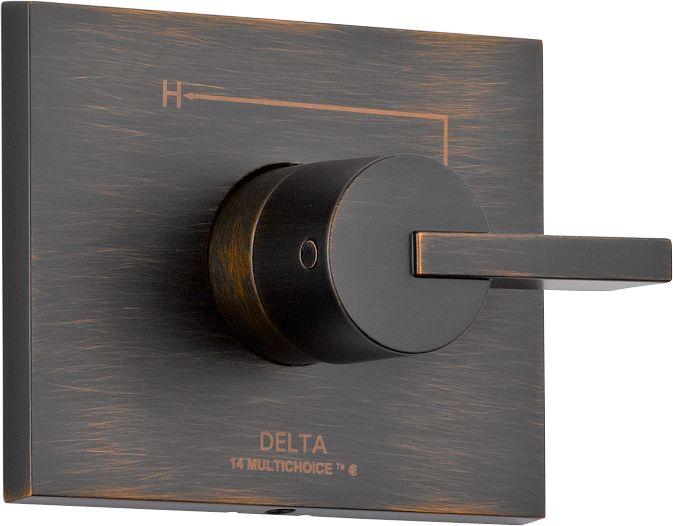 Vero 1-Handle Valve Trim Kit in Venetian Bronze (Valve Not Included)