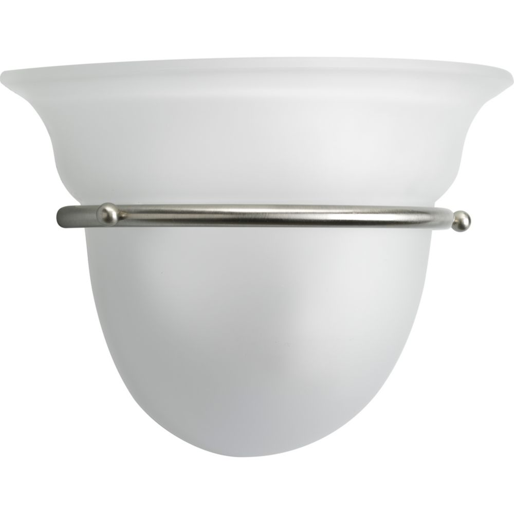 Torino Collection 1-light Brushed Nickel Wall Sconce