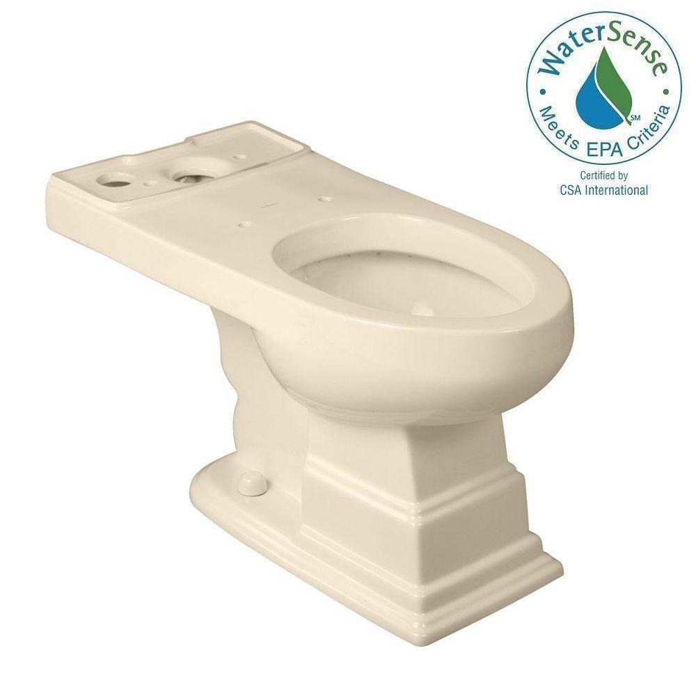 Cuvette de toilette allongée Structure Suite en biscuit seulement