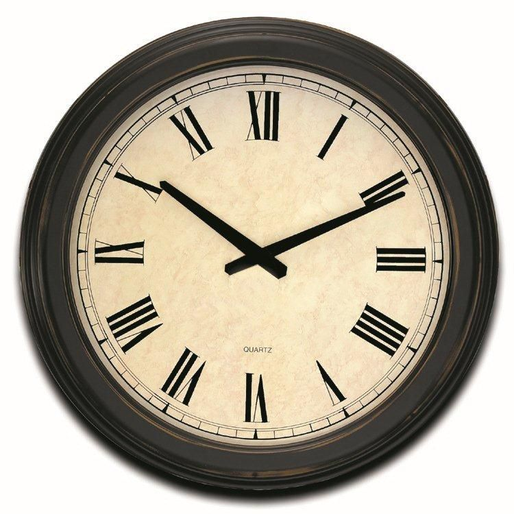 Oxford Hall 18 inch Wall Clock