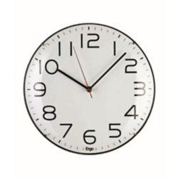 Ergo Horloge murale 12 po sans cadre