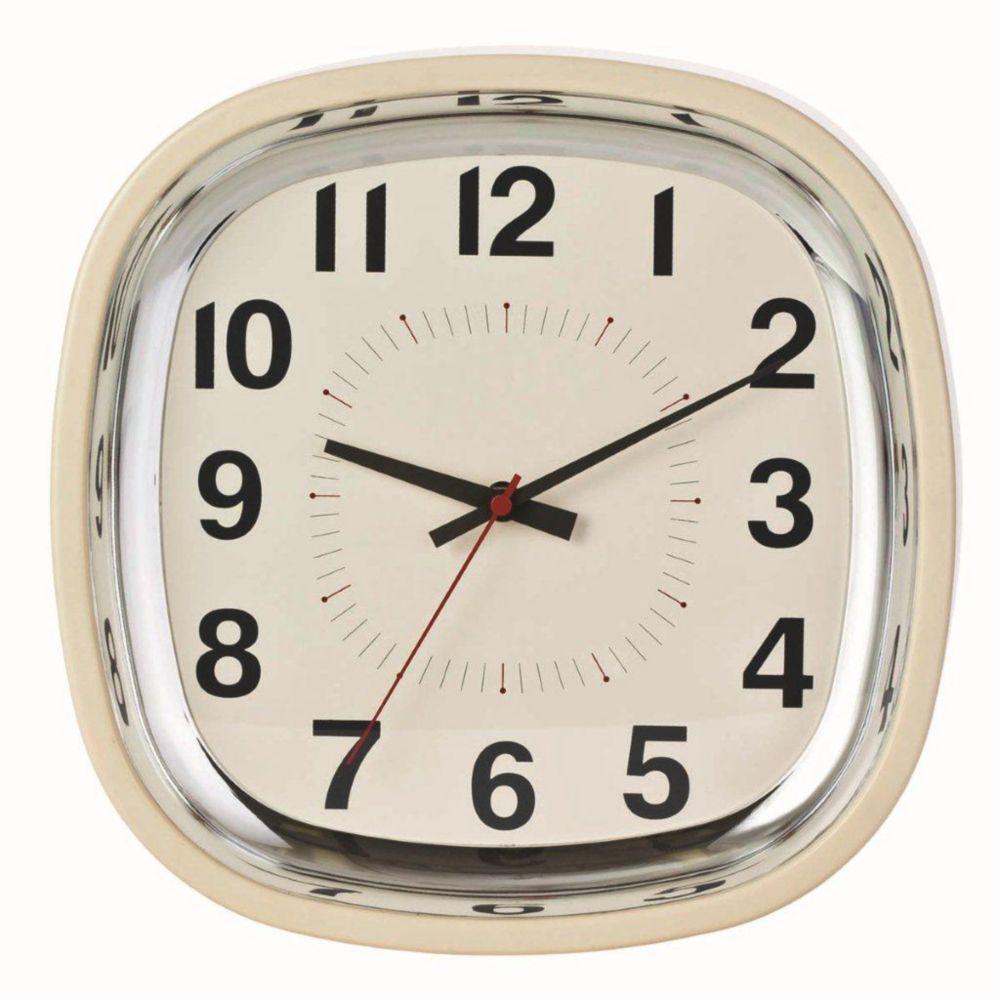 Horloge murale Betty 12po, amande