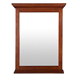 Foremost International Admiral 23-1/2 Inch x 30-3/4 Inch Wall Mirror in Walnut