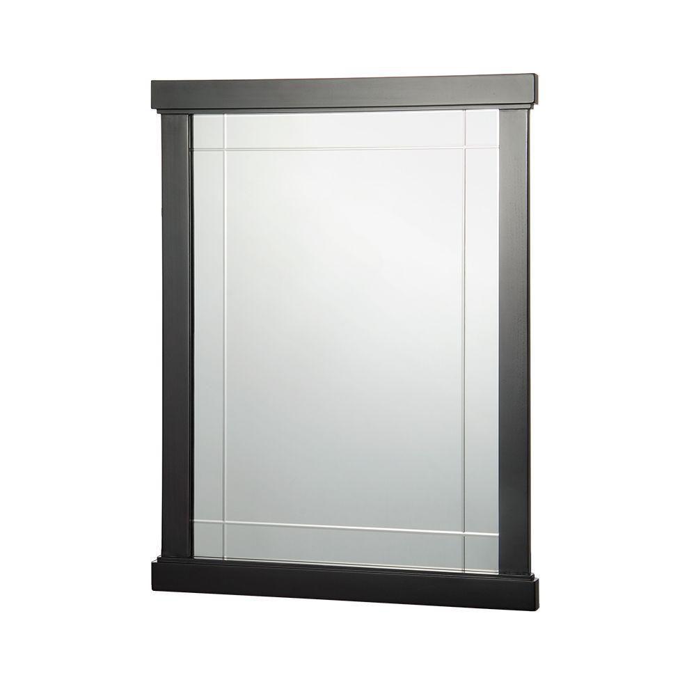 Miroir de meuble-lavabo Zen de 60,96cm (24po) en espresso