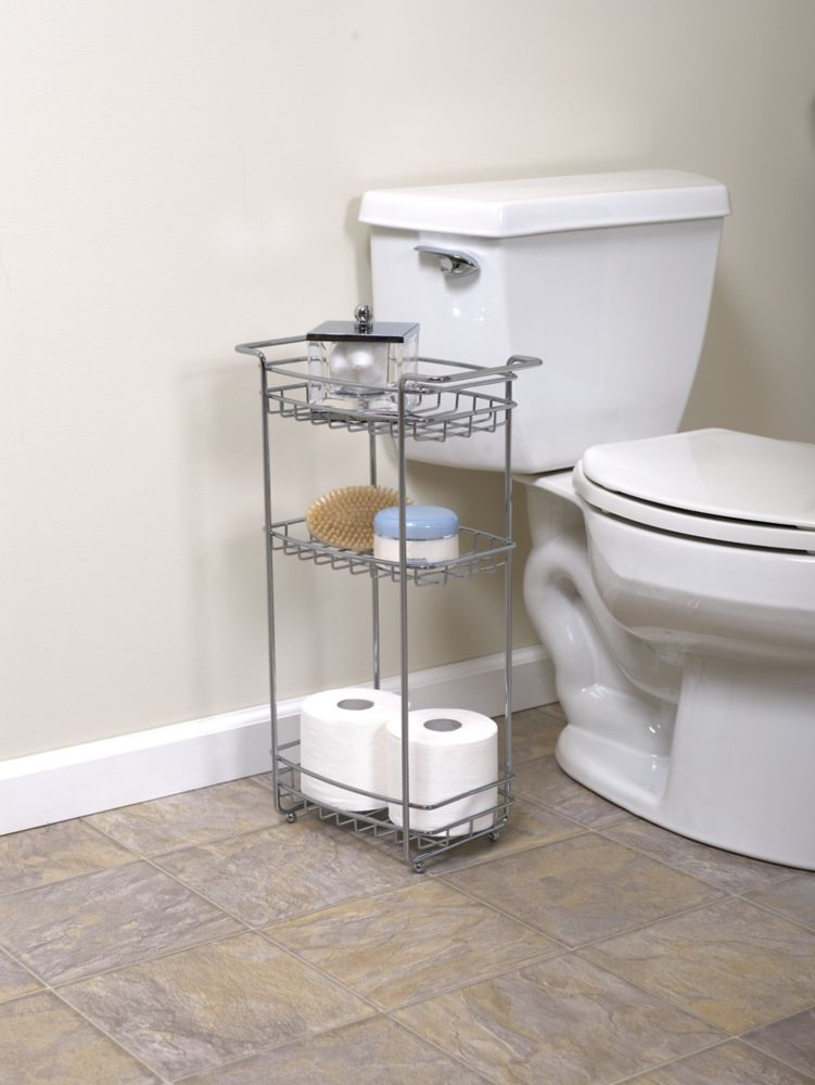 Zenith Products Chrome Floor Caddy