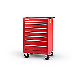 International 27 Inch 7 Drawer Red Tool Cabinet