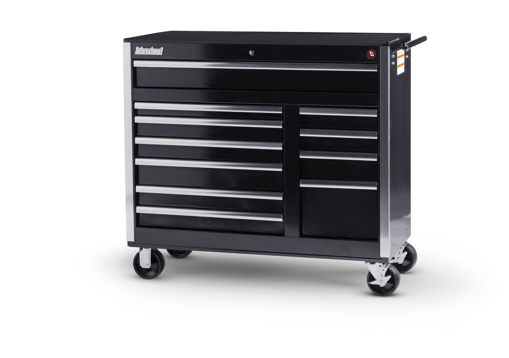 Mechanics 8 Drawer Tool Box Chest Roller Cabinet: HUSKY 52-inch 13-Drawer Tool Chest And Cabinet Combo In