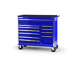 International 42-inch 11-Drawer Tool Cabinet in Blue