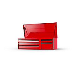 56-inch 6-Drawer Top Chest in Red