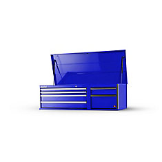 56-inch 6-Drawer Top Chest in Blue