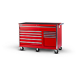 International 56-inch 10-Drawer Tool Cabinet in Red