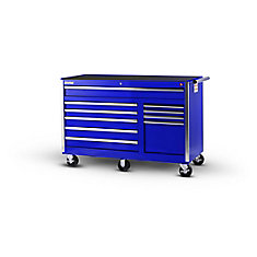 56-inch 10-Drawer Tool Cabinet in Blue