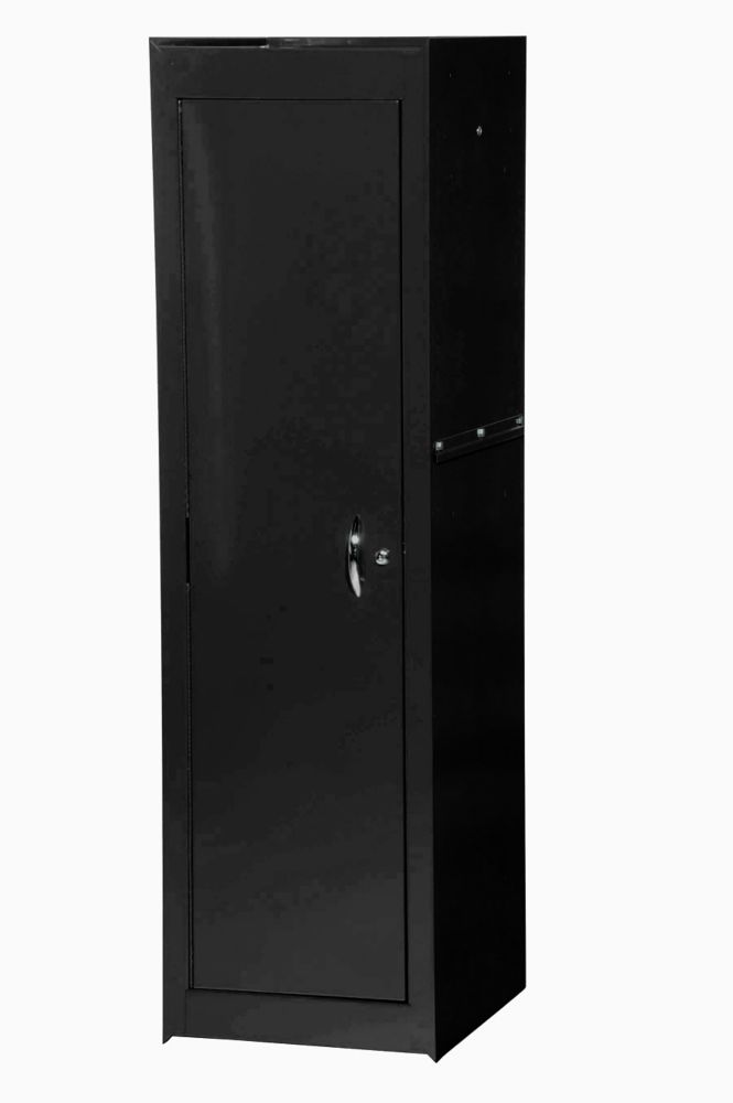 15 Inch Black Two Shelf Full Length Side Locker VRS-4201BK Canada Discount
