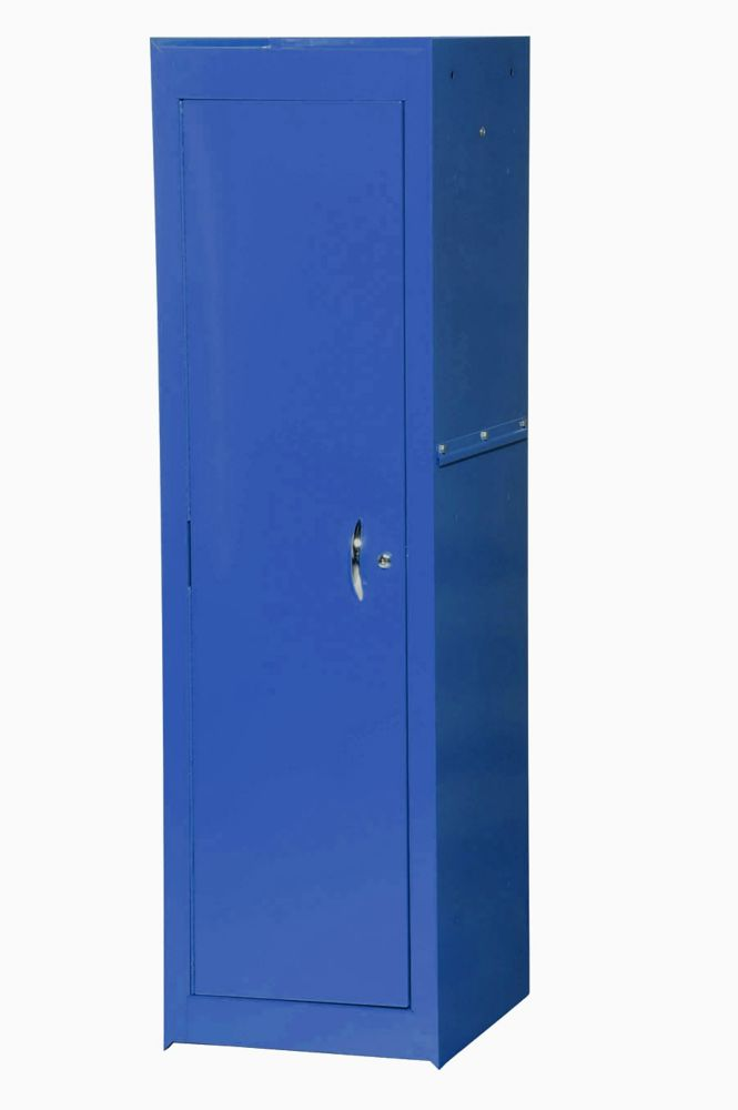 15 Inch Blue Two Shelf Full Length Side Locker VRS-4201BU Canada Discount