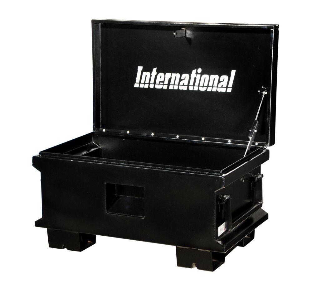 32 Inch Black Job Site Box