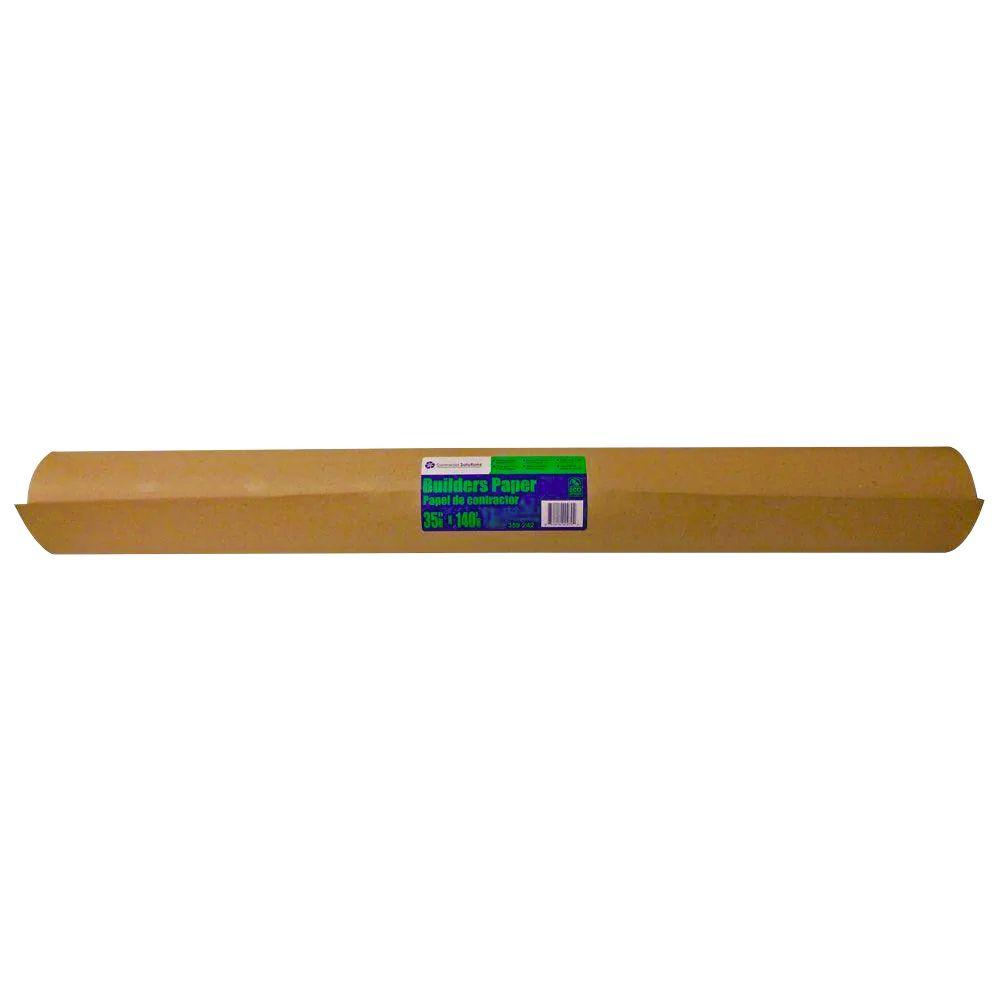 Papier brun de construction, 36 po x 167 pi