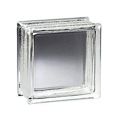 8 Inch x 8 Inch x 4 Inch Glass Block Vue Pattern, case of 8