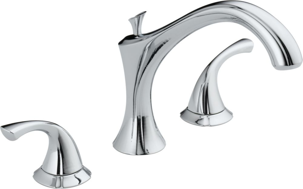 Addison 2-Handle Roman Bath Faucet Only in Chrome