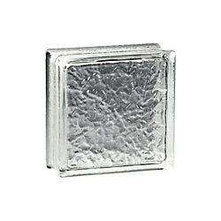 Pittsburgh Corning Bloc de verre modèle IceScapes Thinline, 6po x 6po x 3po  boîte de16
