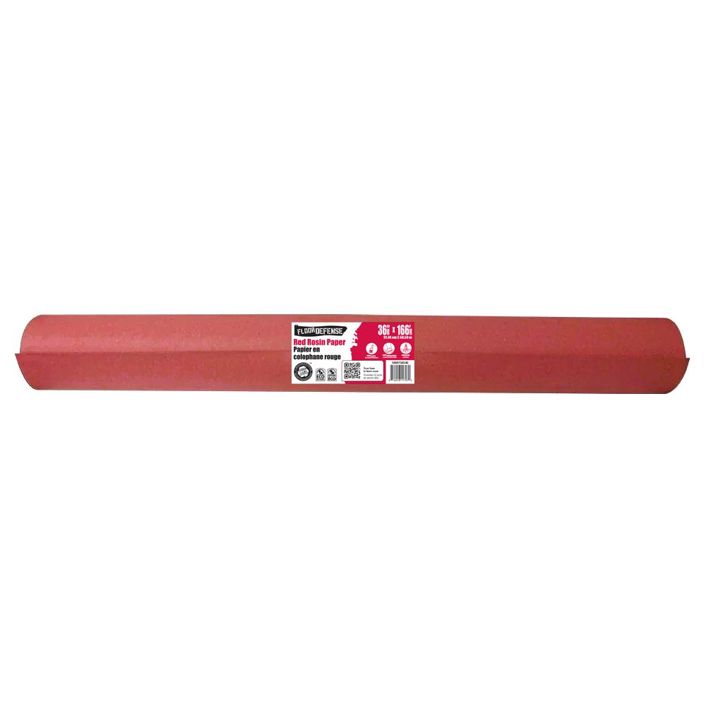 Papier colophane rouge, 36 po x 167 pi