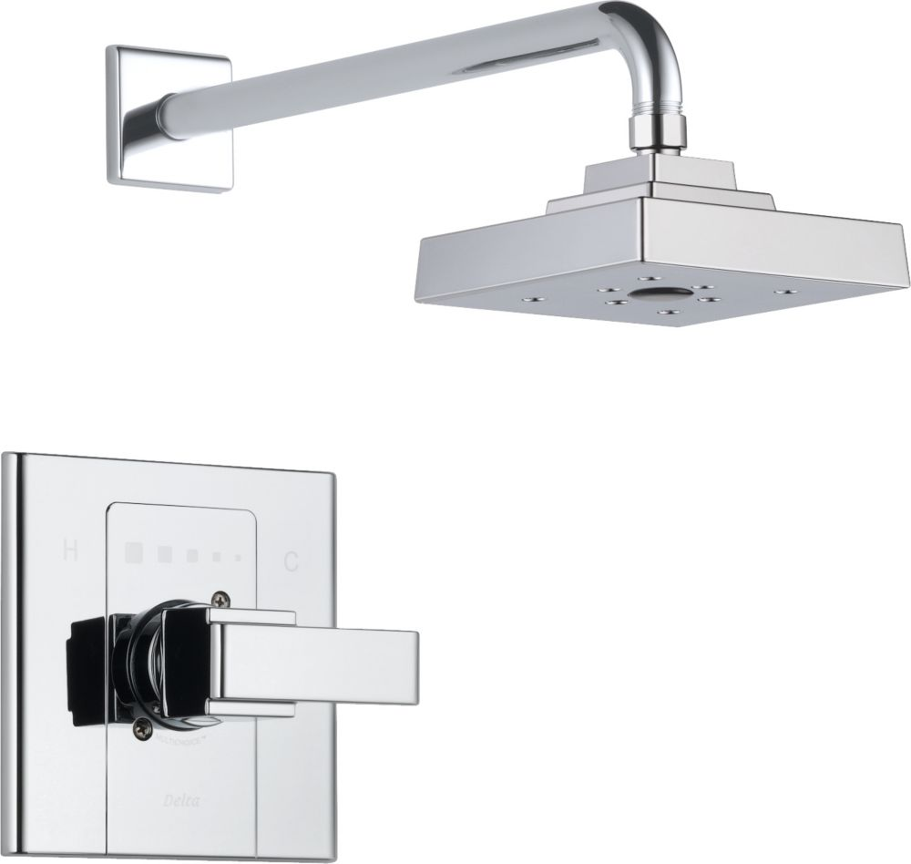 Arzo Single-Handle Single-Function Shower Faucet in Chrome