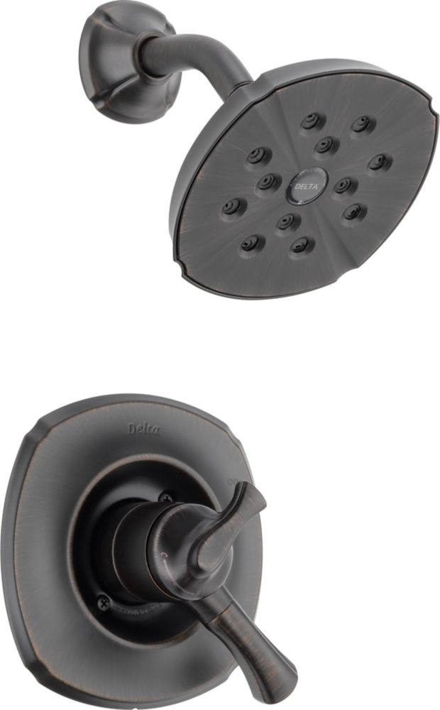 Addison Single-Handle Single-Function Shower Faucet with H2Okinetic in Venetian Bronze