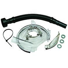 DUSTBUDDIE HD Vacuum Shroud With 18 Inch Hose 7 Inch