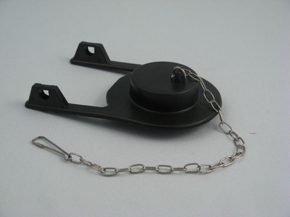 Clapet de remplacement pour toilette KOHLER réf. no 83064, Rialto, bras long avec insertion en mo...