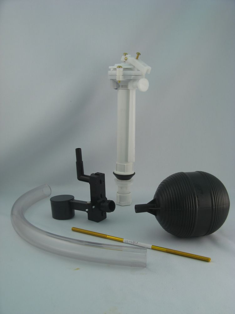 Replacement for Kohler Ballcock Assembly with Front Rim Diverter Valve and Tube