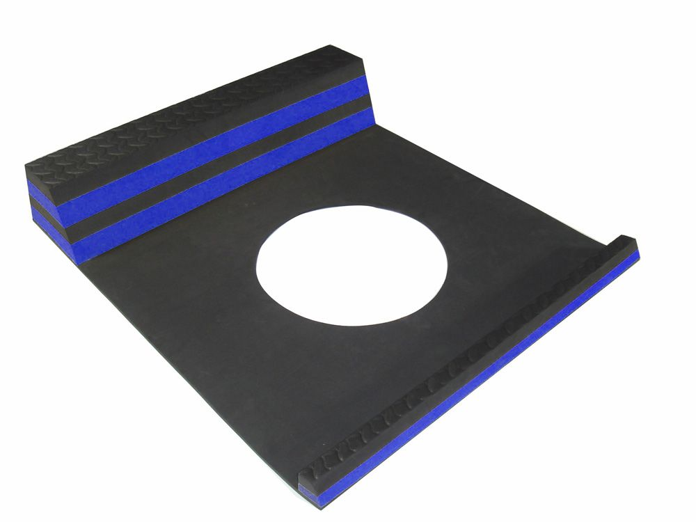 Parking Stopper Blue - 21.5 Inches x 9.5 Inches