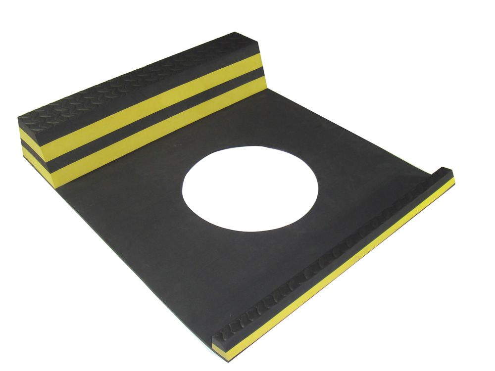 Parking Stopper Yellow - 21.5 Inches x 9.5 Inches 15324 in Canada