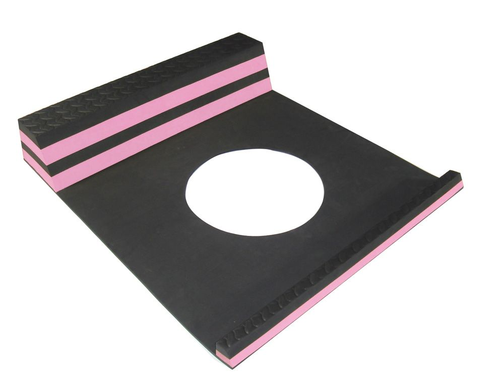 Parking Stopper Pink - 21.5 Inches x 9.5 Inches