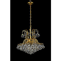 CWI Lighting 20 Inch Spoke Collection - Gold
