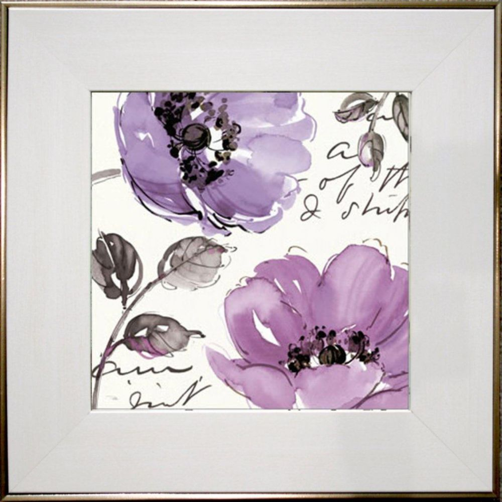 Art Innovations Floral Waltz Plum II
