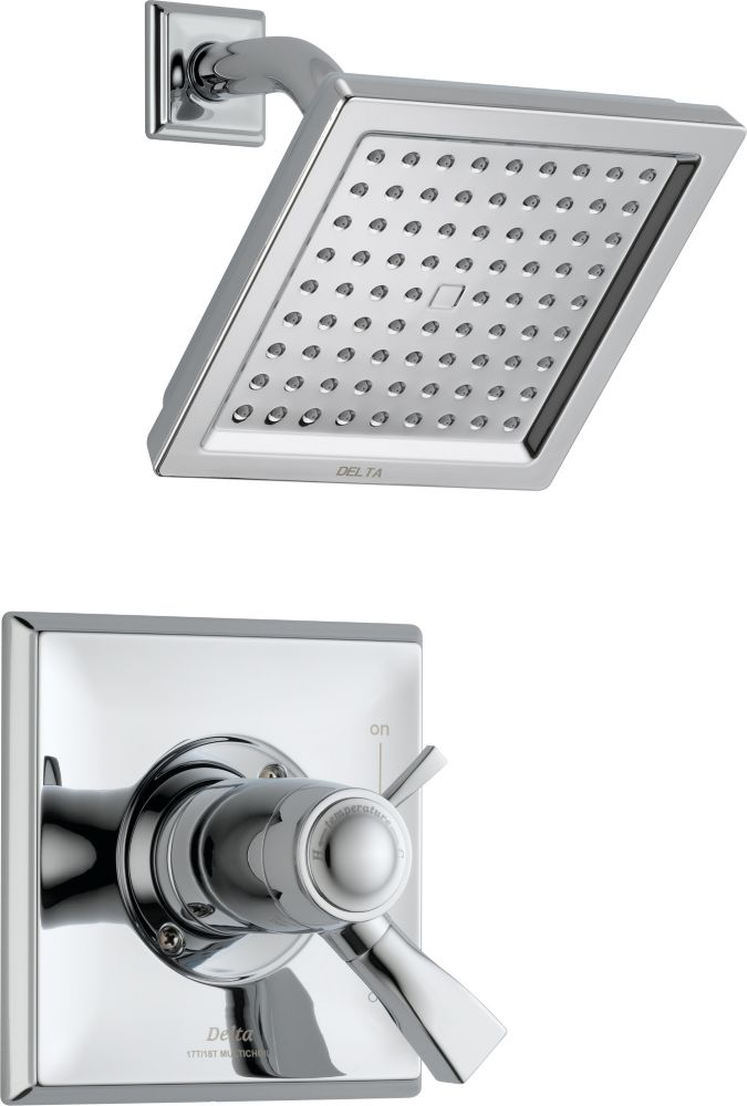 Dryden Single-Handle Shower Faucet with Showerhead in Chrome