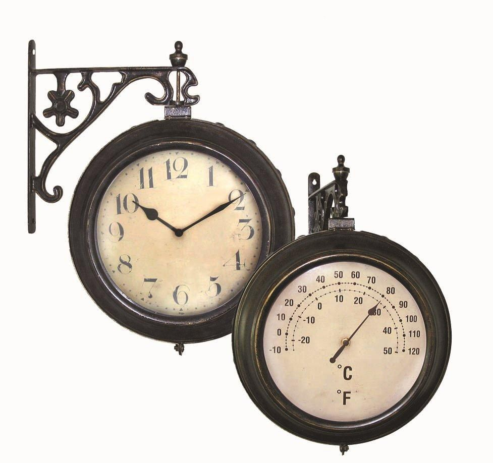 Rivoli CT Clock and Thermometer