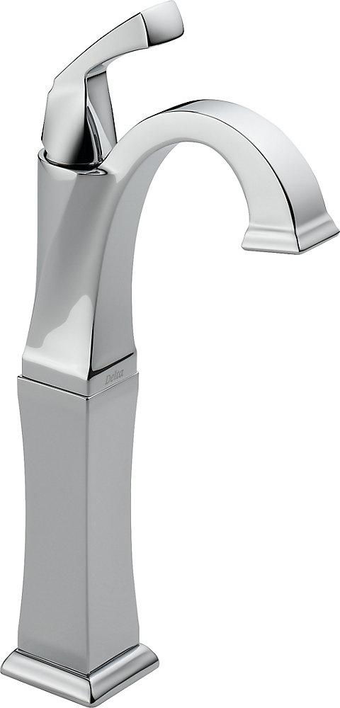 Dryden - Mitigeur monotrou à arche élevée pour la salle de bains, Chrome