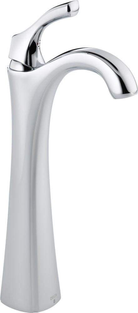 Addison Single Hole Single-Handle High-Arc Bathroom Faucet in Chrome Finish