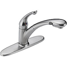 Signature Single-Handle Pull-Out Sprayer Kitchen Faucet in Arctic Stainless