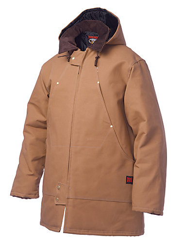 Tough Duck Hydro Parka Brown Large | The Home Depot Canada