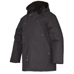 Tough Duck Chore Jacket Black Large The Home Depot Canada