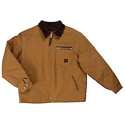 Tough Duck Chore Jacket Brown Large
