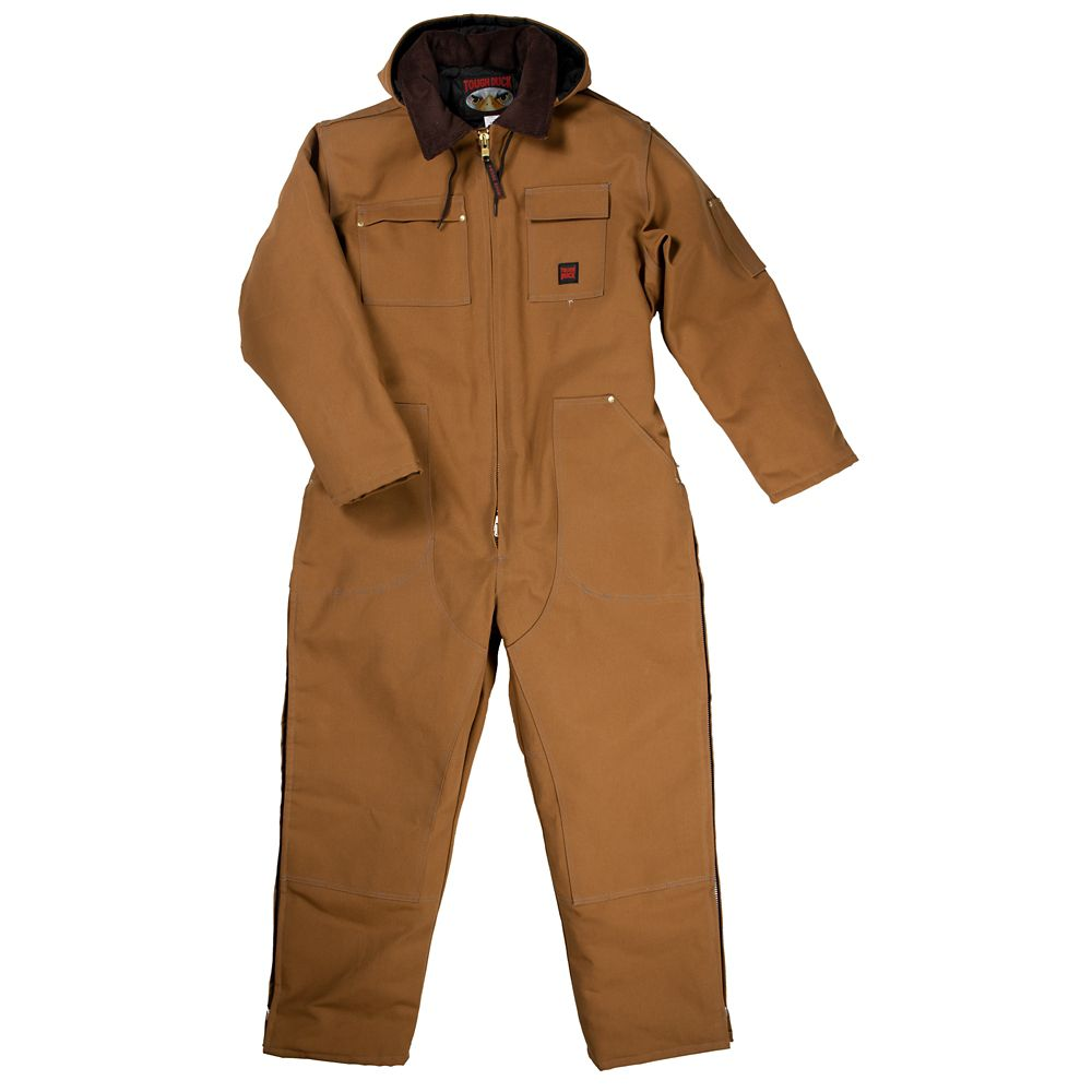 Heavyweight Coverall Brown X Large