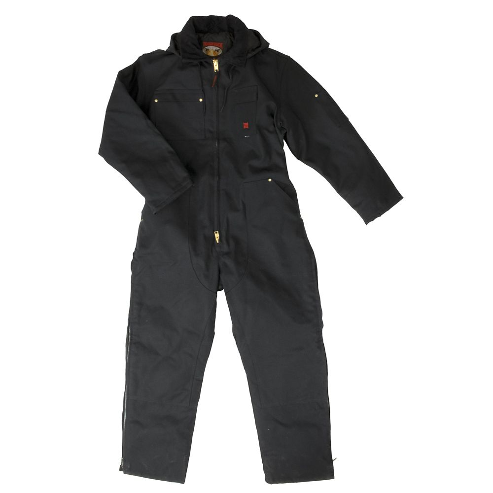 Heavyweight Coverall Black Small