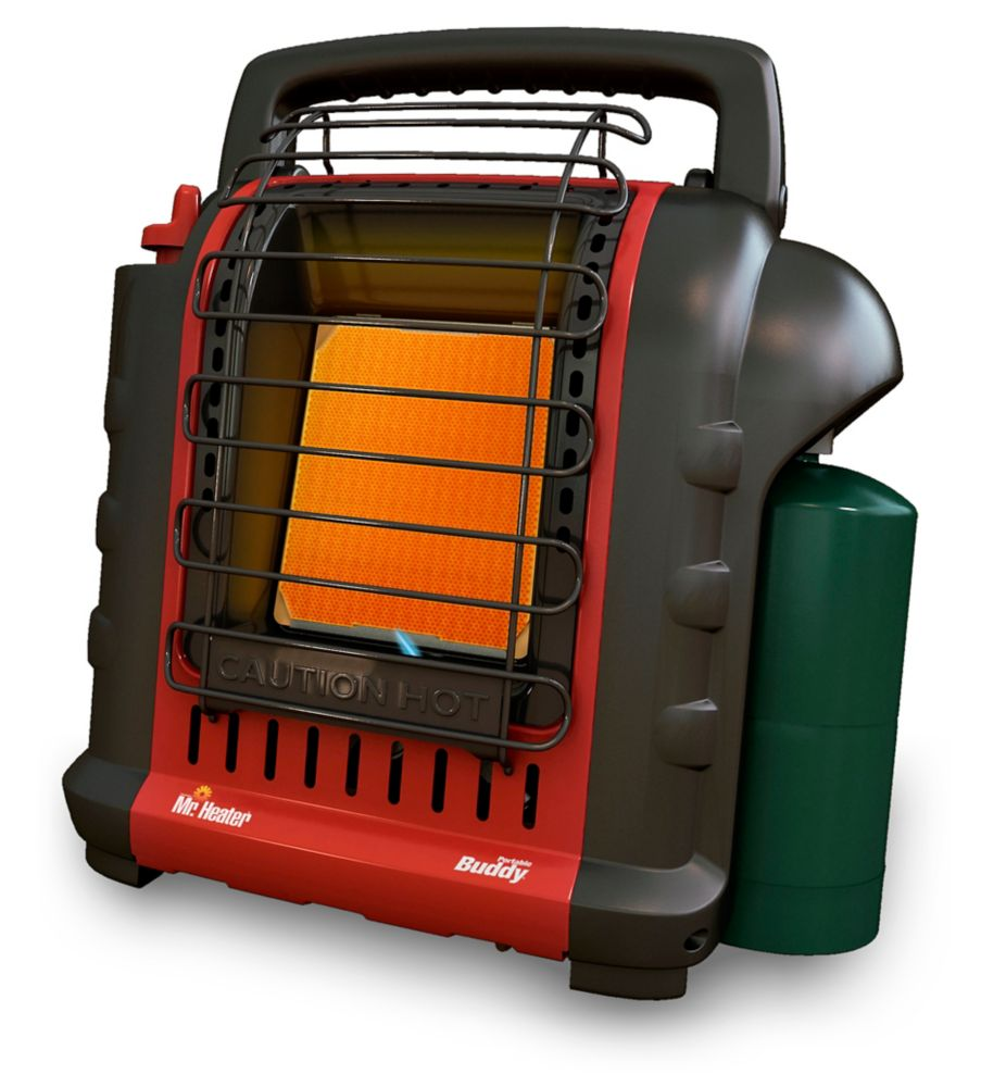 "MH9BX Portable ""Buddy"" Heater - 4,000 and 9,000 BTU/Hr."