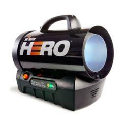 Mr. Heater Hero -  Chaufferette sans fil au propane à air forcé 35,000 BTU/Hr.